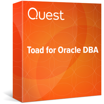 Toad for Oracle DBA Edition