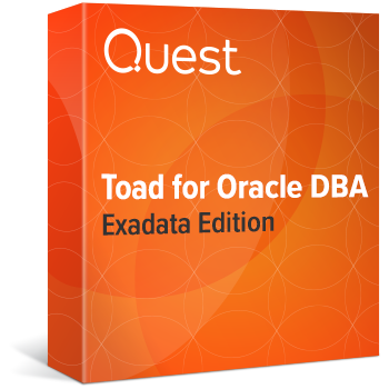 Toad for Oracle DBA RAC EXADATA Edition